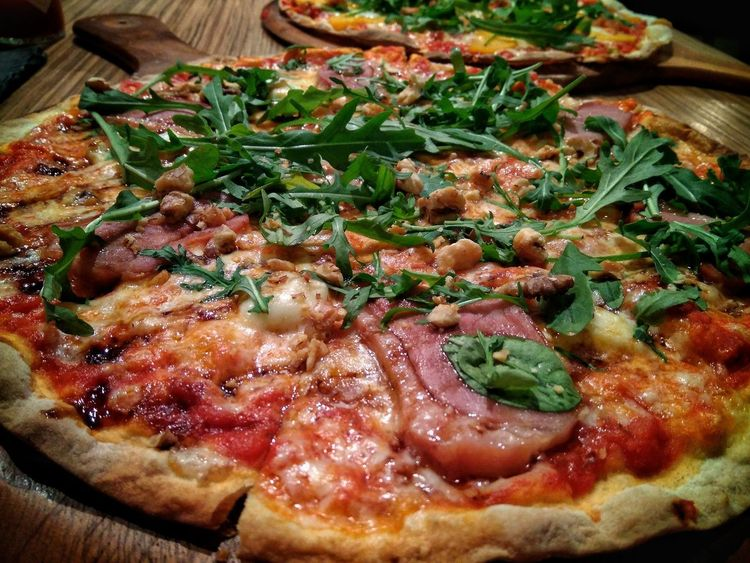 Hungry Yet? Home Made Pizza Smoked Duck Pizza Smoked Duck Food And Drink Food Freshness Indoors  No People Close-up Ready-to-eat Healthy Eating Day Culinary Dinner Greens Cheese Home Cooking Eating Served Fresh Just Made Ready To Eat Dining At Home Visual Feast