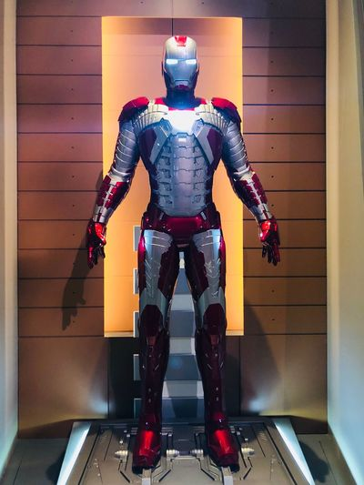 iron man 5 Marvel Disney Shanghai Technology Indoors  Robot Security Human Representation Representation One Person