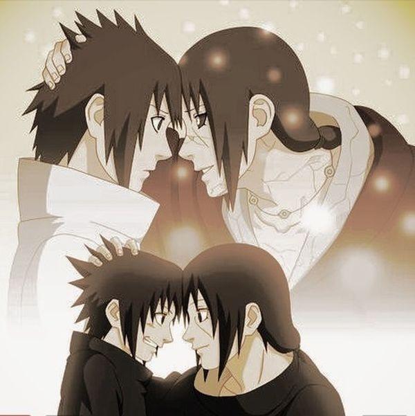 Naruto Shippuden  Sasuke Uchiha Itachi Brothers