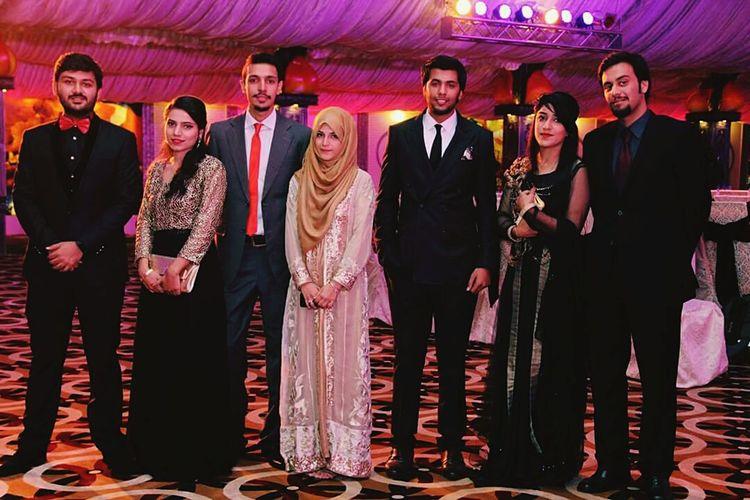 Friends Red Carpet Parti Pakistan Evening Memorable Moment
