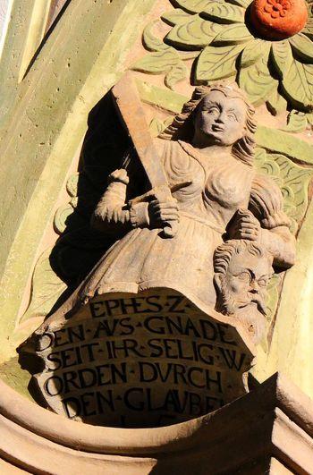 Adults Only Altstadt Architecture Bogen Denkmal History One Person Outdoors Portal Religion Sachsen Schlesien Tür Türbogen