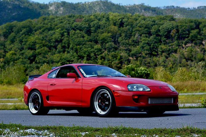 Supra Toyota Sports Car Legendary Car