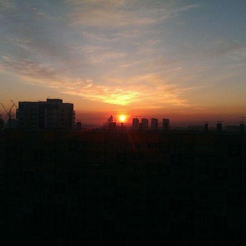 Morning 6 :52Krasnojarsk Siberia