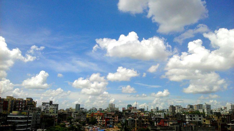 City Dhaka, Bangladesh Sky Buildings & Sky Alauddin Hospital 2016 Picture