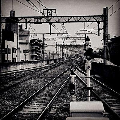 Station Monochrome Blac&white  OSAKA