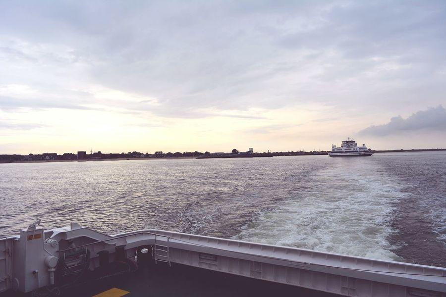 Evening Light Föhr Schiff Holiday Ocean Taking Photos The Great Outdoors - 2017 EyeEm Awards