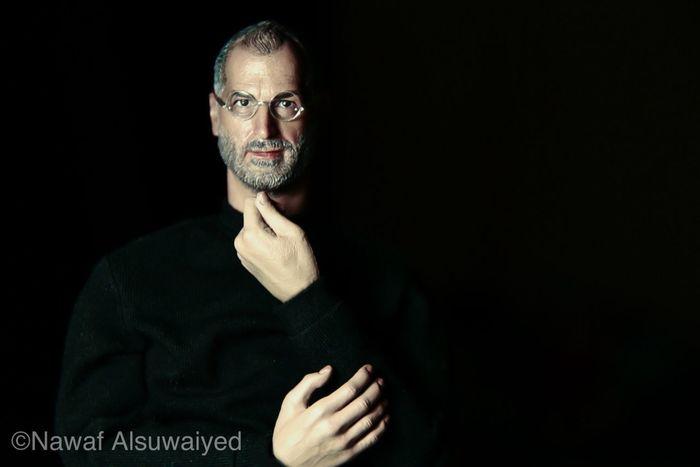 Portrait Steve Jobs