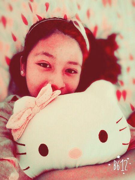 Hello kitty ❤️💜💛💚💙