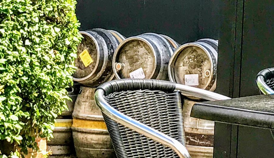 Barrel and chair 10212 Wine Not