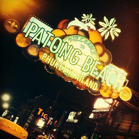 Thailand Phuket Patong Bangla Banglaroad Street Nightlife Spotted In Thailand