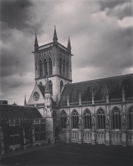 Smartphonephotography Blackandwhite Architecture Oldbulding College Cambridge Black And White Friday