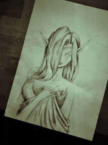 Drawing Draw Art Elf