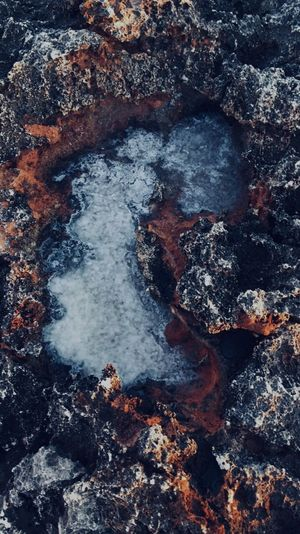 Geology Rock - Object No People Nature Outdoors Day Lava Beauty In Nature Hot Spring Close-up Water Mallorca Science Photos first eyeem photo Perspectives On Nature Perspectives On Nature EyeEmNewHere EyeEm Ready   EyeEmNewHere