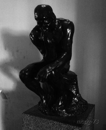 Art Blackandwhite Auguste Rodin