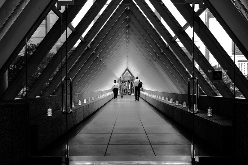 The Week On EyeEm The Way Forward Architecture Walking Bridge - Man Made Structure Walkway Bridge Architecture Architecturelovers Architecture Photography Black And White Photography B&w Street Photography EyeEm Best Shots B&w Street Photography Exceptional Photographs EyeEm Selects Exceptional Photography EyeEm