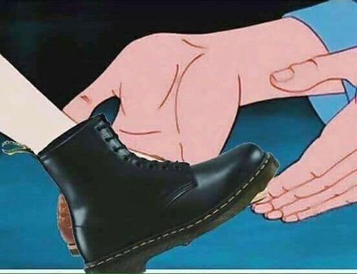 Cinderella Shoes Docrotmartins ❤️
