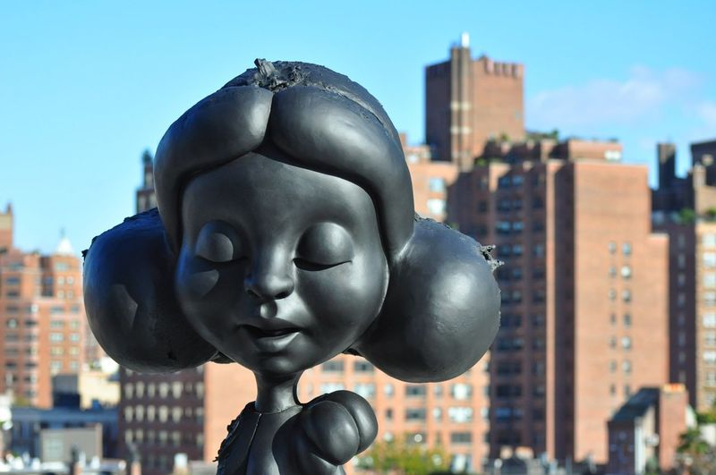 New York City Focus On Foreground Human Representation Creativity Statue Arts Culture And Entertainment Whitney Museum