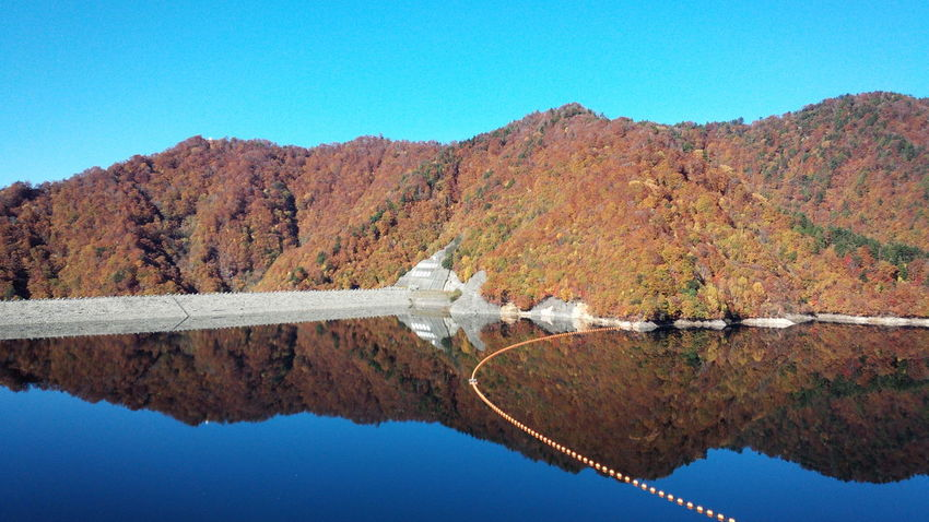 naramata Dam and Lake. Autumn Colours . The Purist (no Edit, No Filter) .