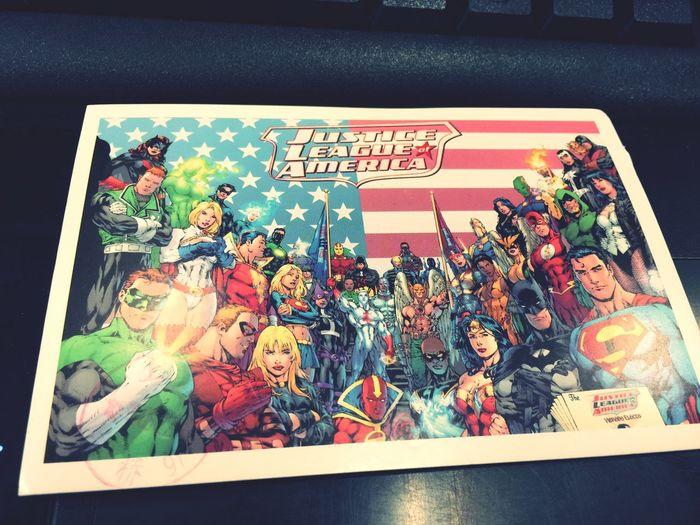 Received a postcard from A girl I met on SHCC.SOOOO HAPPY!DC大法好! Shcc DC