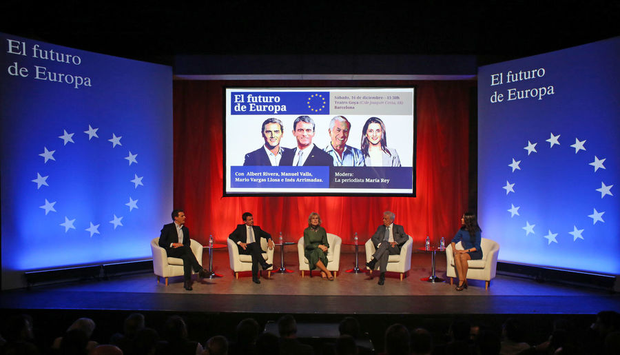 Arrimadas Barcelona Catalunya Ciutadans Elections Ca Independence Manuel Vals SPAIN Vargas Llosa