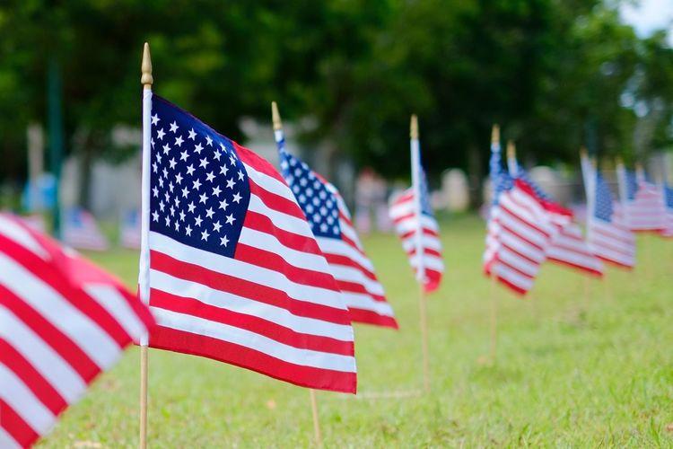 Memorial Day Hyatt Regency Saipan Saipan American Flag Flags Flag Memorial Day