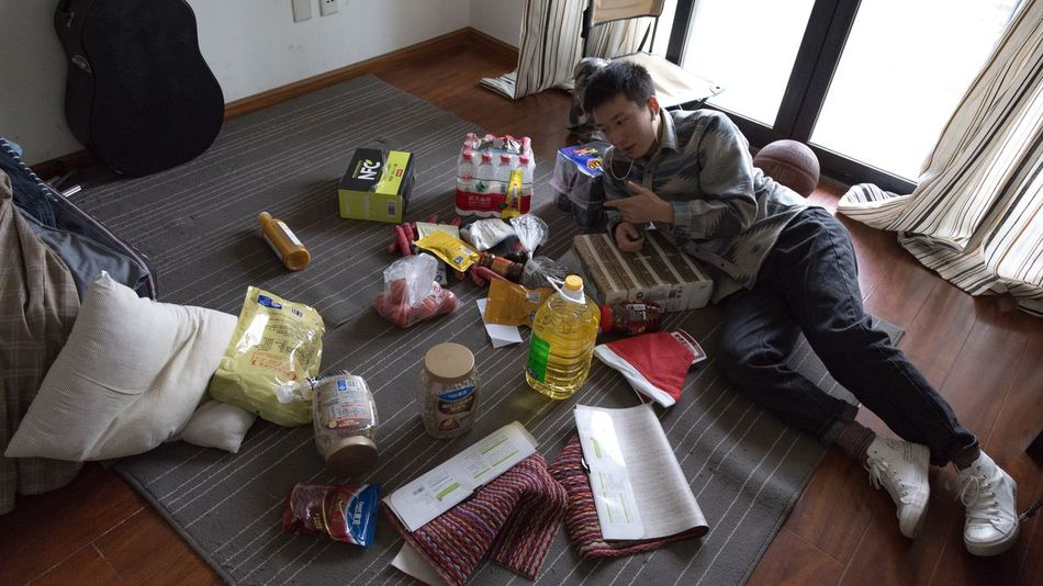 2018-11-23 Indoors  Table Sitting High Angle View Food And Drink Flooring Food