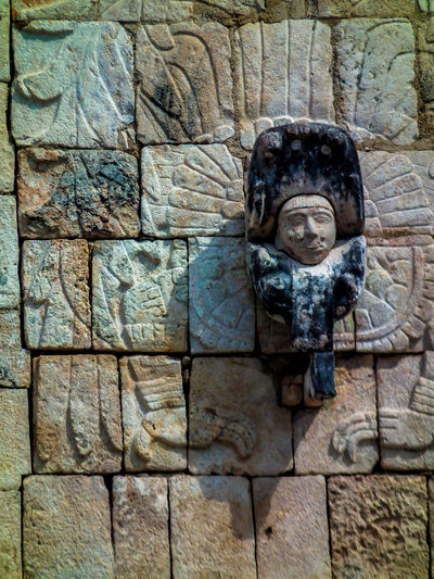 Archaeological Sites Carving Chichen Itza Feathered Figure Full Frame History Mayan Mayan Ruins Mayan Wonders Quetzalcoatl Serpent Stone Weathered Yucatan Mexico Yucatan Peninsula Yúcatan