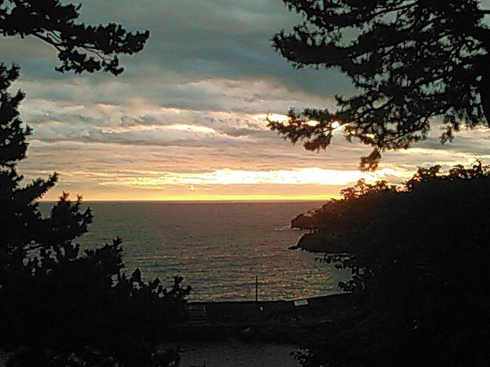 Sunrise Silhouette Smartphonephotography Izu-huto