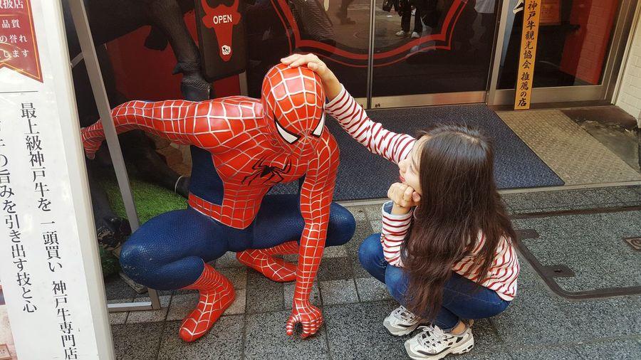 Travel Japan Chinatown Spider-man Couple