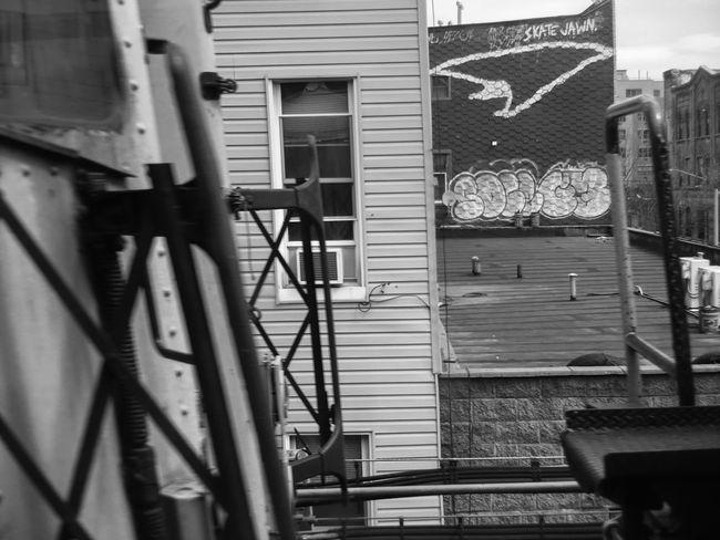 Aboveground Architecture Art Artist ArtWork Blackandwhite Blackandwhite Photography Brooklyn Building Bushwick Colors Daily Grind  Daily Life Graffiti J Train New York NYC Photography NYC Street Photography Photo Spring Subway Tracks Underground Urbanphotography Workers
