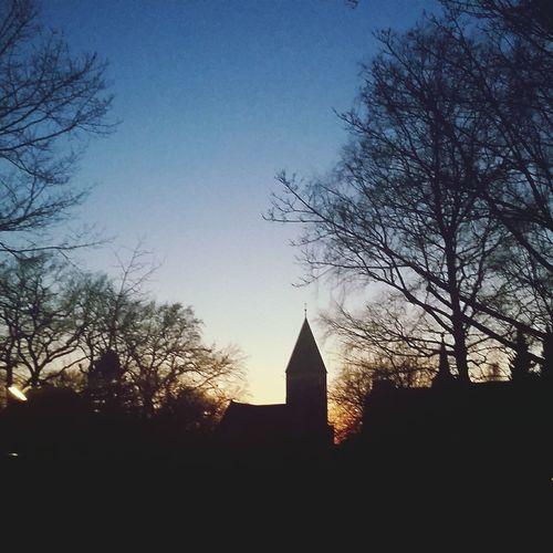 What beautiful Sunset Spring Hamburg Hamburgmeineperle