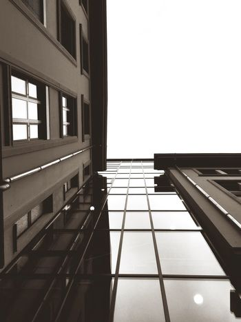 In the Sky Window Architecture Day Urban