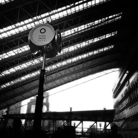 OSAKA Hanging Out Streetphotography Osaka Station Blackandwhite Monochrome Streetphoto_bw