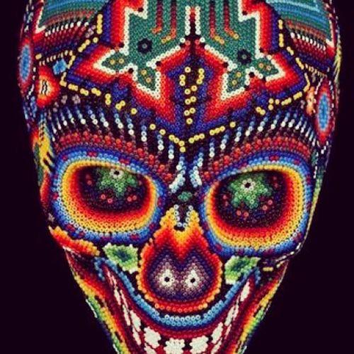 2DeNoviembre Diademuertos Artehuichol Color Lacalaca