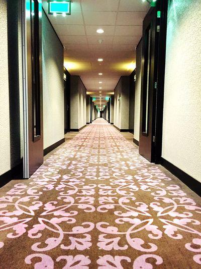 Indoors  Hallway Hotel