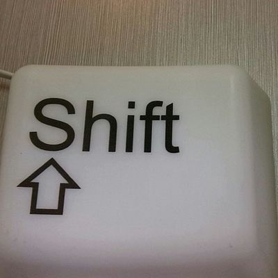 Shift SeanKnows Pushthebutton  Changeeverything