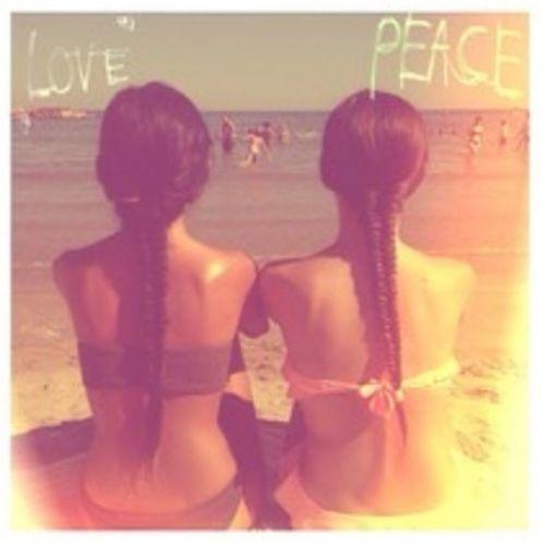 Lovely braids Summer Braids Friends Beach