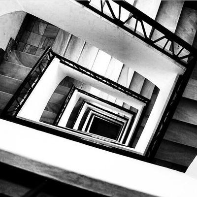 Stairs (BW)
