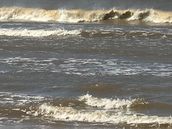 My morning gift Wave Beach Sea Surf Water No People Nature Sunlight Day Beauty In Nature Sand Outdoors Motion Scenics Horizon Over Water Power In Nature Close-up Sky