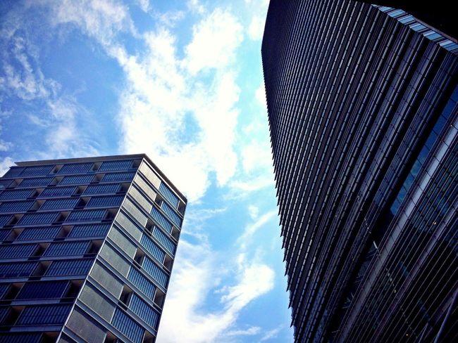 Skyblue sky] Building Kuala Lumpur Malaysia