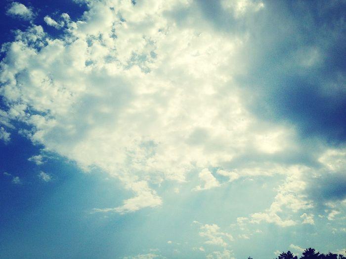Relaxing Nuage Ciel Bleu Soleil