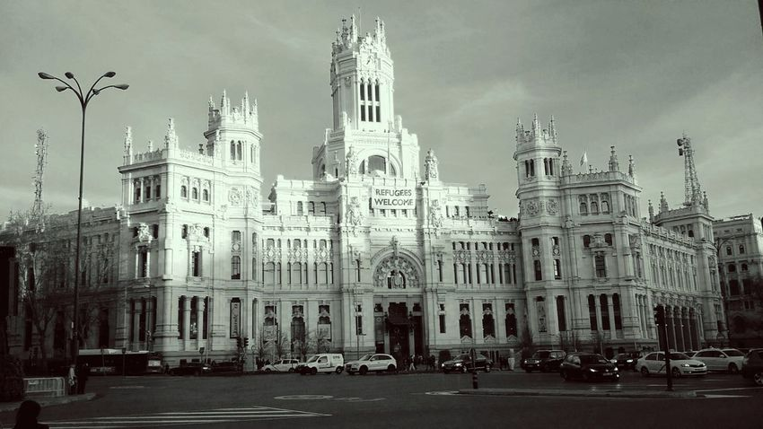 Madrid SPAIN Art CibelesPalace Monuments Castellana Welcome Refugees Photography Monument Photography First Eyeem Photo