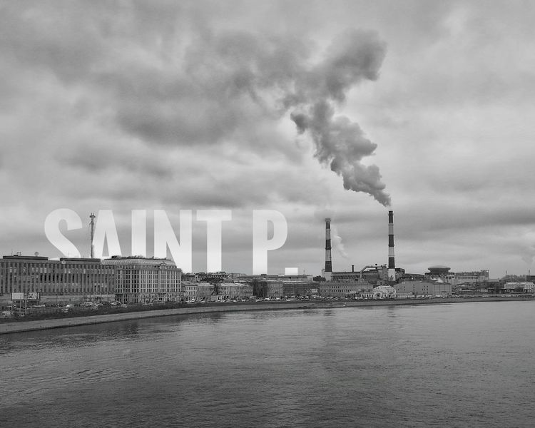 Monochrome Photography Smoke Stack Industry Factory Built Structure Water Architecture Smoke - Physical Structure Waterfront Air Pollution Emitting City Pollution Travel Destinations Building Exterior Industrial Building  Fumes Sea Toxic Substance Environment Chimney
