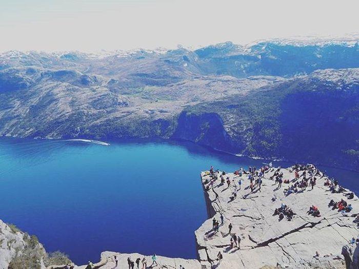 Preikestolen Norway Myhikingadventures Lifetothefullest Life Nature Fjord Beautifuldestinations Earthseekers