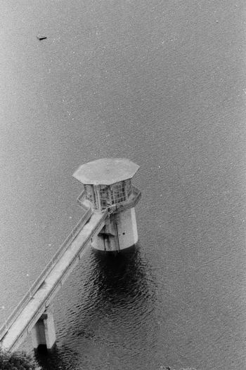 Filmcamera Blackandwhite Blackandwhite Analogue Photography Film Photography Film Water Sea Day No People Built Structure Architecture Nature Outdoors High Angle View Scenics - Nature Horizon Over Water Building Exterior Reflection Land Beauty In Nature Beach Horizon Sky