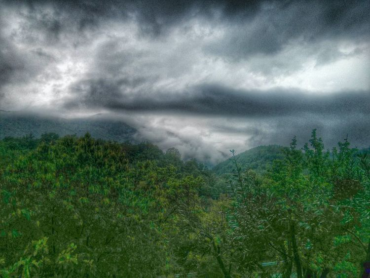 Bad weather in ciociaria. CiociariaEye HDR