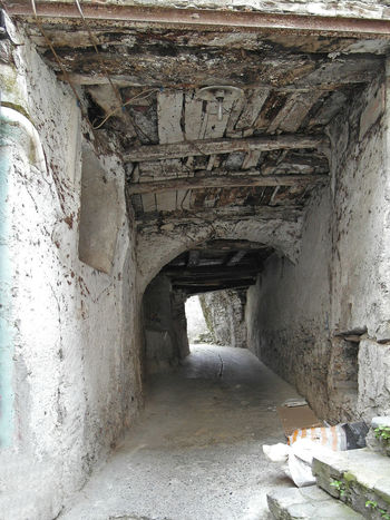 Glimpse of an underpass Italia Old Town South Italy Underpass Arch Architecture Built Structure Calabria Glimpse No People Travel Destination Verbicaro