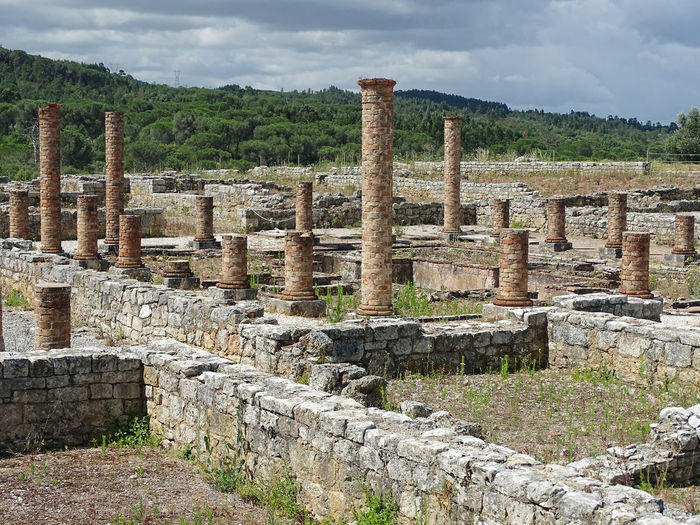 Ancient History Architecture Archaeology Travel Tourism Portugal Conimbriga