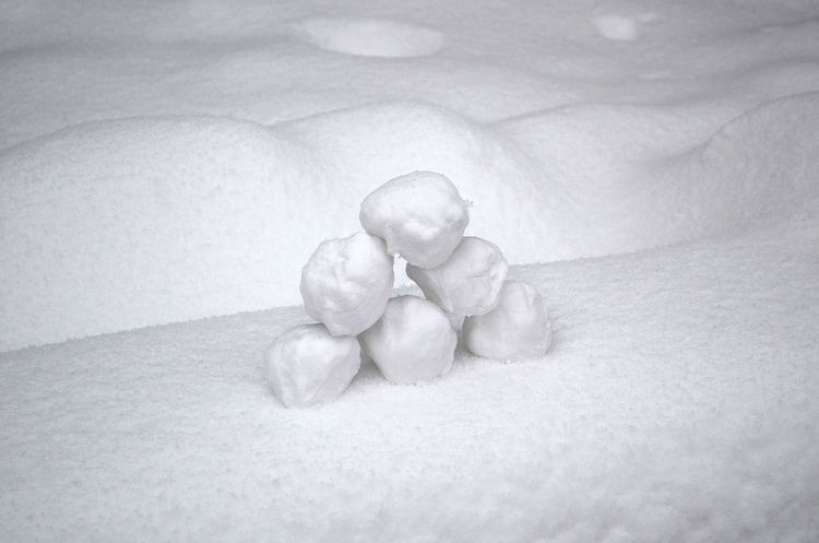 Close-up Day Healthy Eating Indoors  Minimalism Minimalismo Nature No People Palle Di Neve Snow ❄ Snowball Snowballs Winter Wintertime Black And White Friday Shades Of Winter