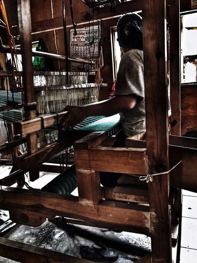 Sagada weavers Skill  Working Occupation Weaving Philippines Women Around The World